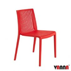 Vanna Zoom Side Chair - Red